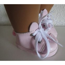 konijn schoentjes roze baby...