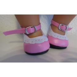 roze schoentjes baby born...