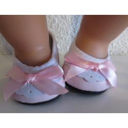 zomer schoentjes roze met...