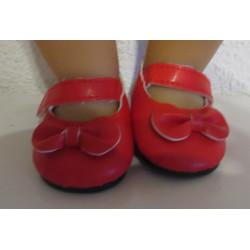 zomer schoentjes rood strik...