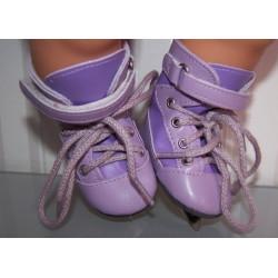 sport schaatsen paars baby...