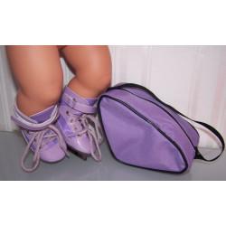 sportschaatsen paars met...