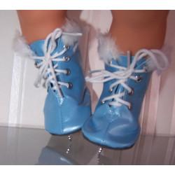 schaatsen blauw baby born...