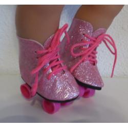 rollerskates roze baby born...