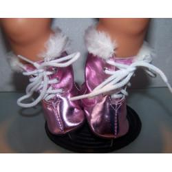 schaatsen hard roze matalic...