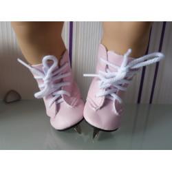schaatsen roze baby born...