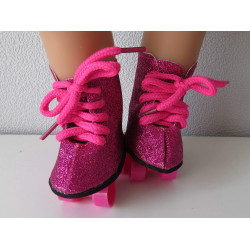 rollerskates hard roze baby...
