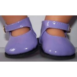 lak schoenjes lila baby...
