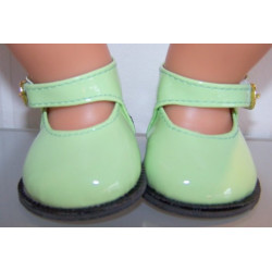 lak schoentjes groen baby...