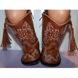 cowboy laarzen bruin baby...