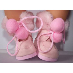 laarzen roze baby born 43cm...