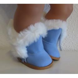 laarzen blauw baby born...