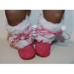 laarzen midden roze baby...