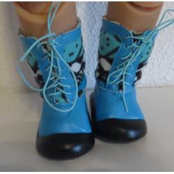sneeuwlaarzen blauw baby...