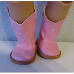 laarzen licht roze baby...