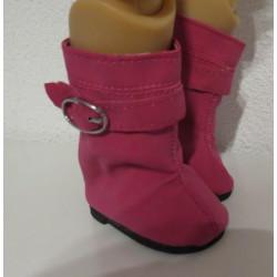 laarzen donker roze baby...