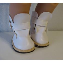 laarzen wit met gesp baby...