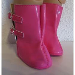 regenlaarzen hard roze baby...