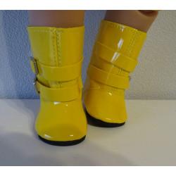 regenlaarzen geel baby born...
