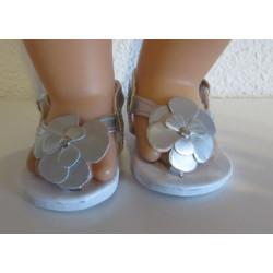 sandalen zilver baby born...