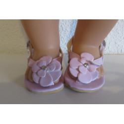 sandalen roze baby born...