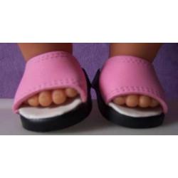 slippers licht roze baby...