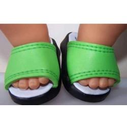 slippers groen baby born...