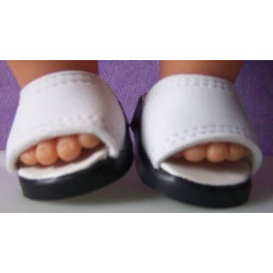 slippers wit baby born 43cm...
