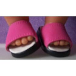 slippers hard roze baby...