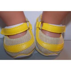 sport schoentjes geel baby...