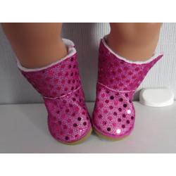 ugs laarzen hard roze baby...