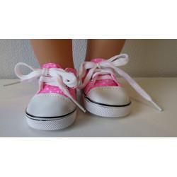 sneakers fel roze met...
