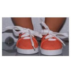 zomer sneakers oranje  baby...