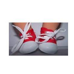 sneakers rood baby born...