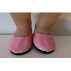 glitter schoentjes roze...