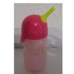 fles roze baby born 43cm