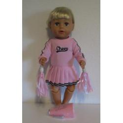 cheerleaders set roze baby...