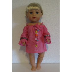 zomer blouse baby born 43cm...