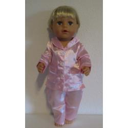 pyjama roze baby born 43cm...