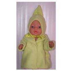 kraagjas groen baby born 43cm
