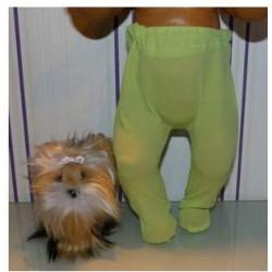 maillot groen baby born 43cm
