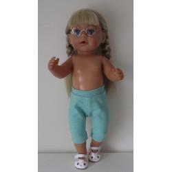 3/4 legging groen baby born...