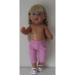 3/4 legging roze baby born...