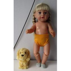onderbroek oker geel baby...
