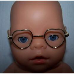 hartvormige bril