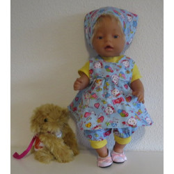 baby doll setje blauw baby...