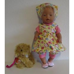 baby doll setje geel baby...