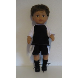 voetbal set zwart baby born...