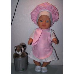 kokin set baby born 43cm