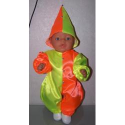 clownspak geel oranje baby...